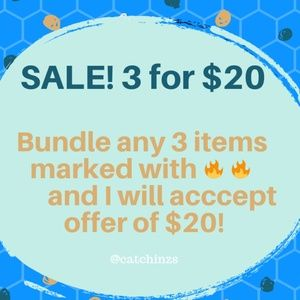Other - 🔥🔥 SALE! 3 for $20 🔥🔥